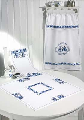 Blue Kitchen Table Mats - click for larger image