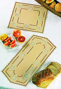 Gold table runner - click for larger image