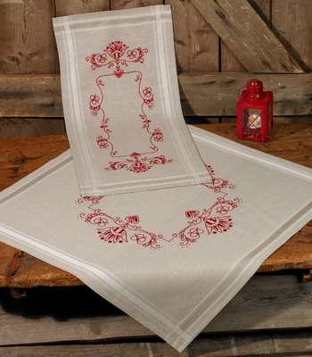 Classic Red Table Runner
