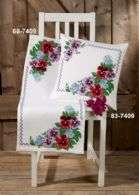 Petunias Table Runner