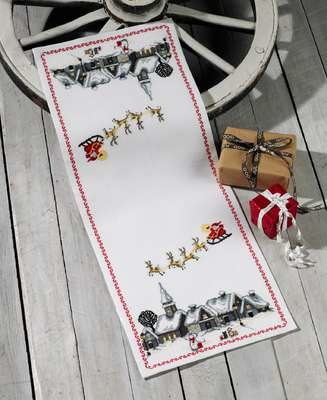 Christmas Eve Table Runner - click for larger image