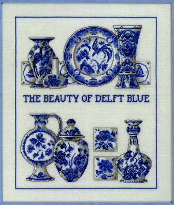 The Beauty of Delft Blue - click for larger image