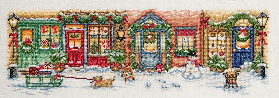 Christmas Street - click for larger image