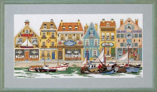 Harbourside houses - click for larger image