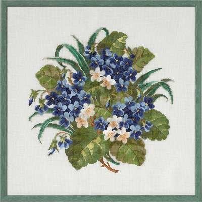 Violets - click for larger image