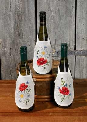 Summer Wine Bottle Aprons - click for larger image