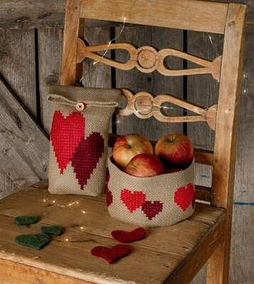 Heart Gift Bag - click for larger image