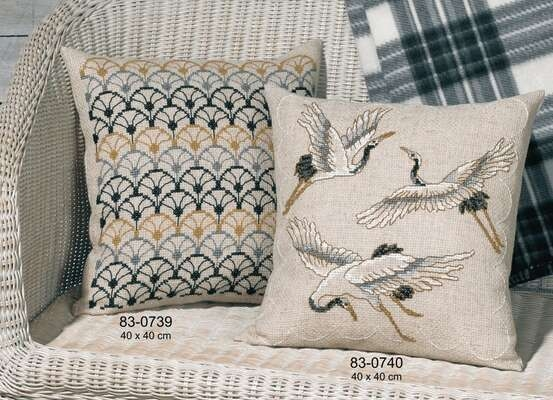 Crane Cushion - click for larger image