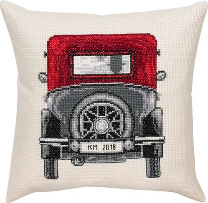 Vintage Ford Cushion - click for larger image