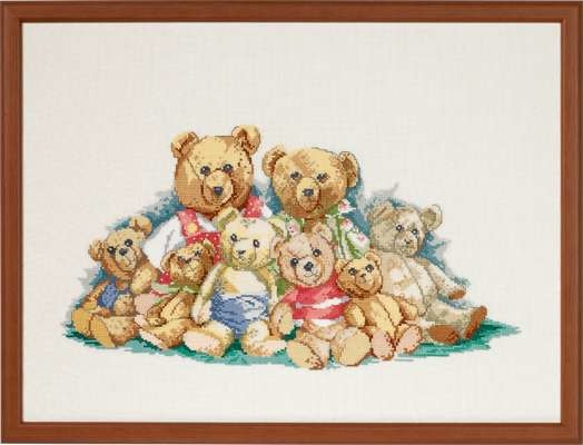 Teddy Family - click for larger image