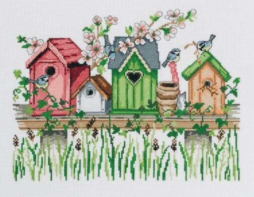 Birdhouse Shelf - click for larger image