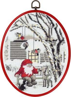 Elf in Garden - click for larger image