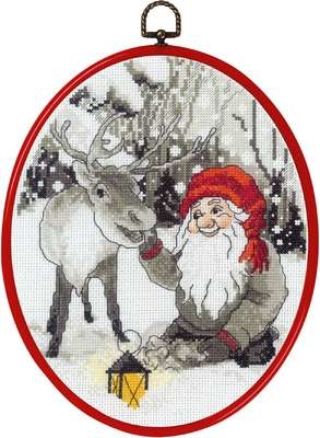 Elf and Reindeer - click for larger image