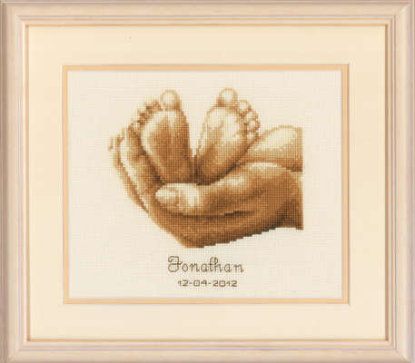 Little Feet Birth Sampler