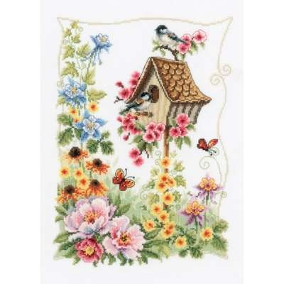 Bird House Cross Stitch