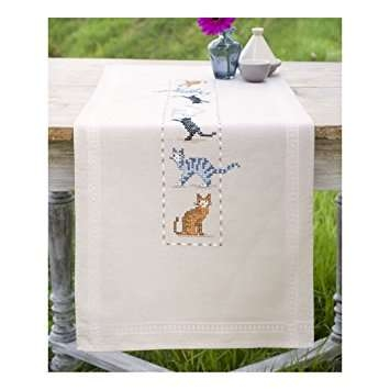Cats Table Runner