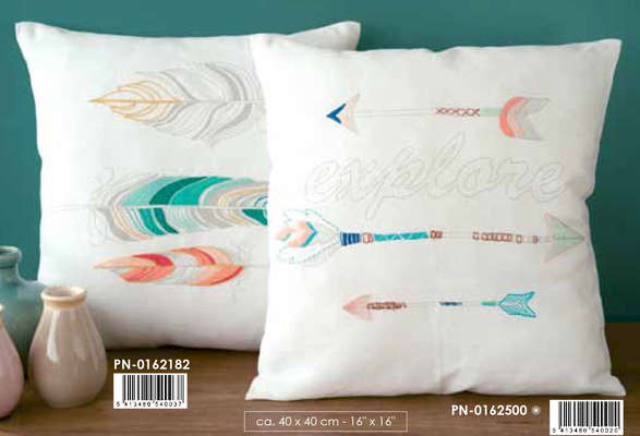 Three Feathers Cushion Cover Kit