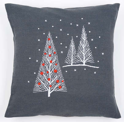 Winter Trees Cushion