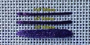 Ribbon sizes