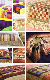 Bed Runners - patchwork and quilting patterns by House of White Birches