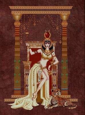 Cleopatra, cross stitch pattern by Bella Filipina