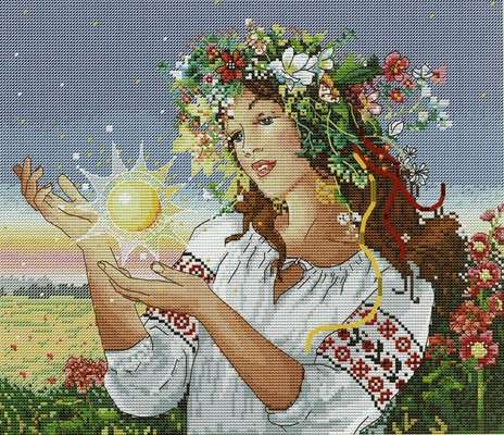 Dawn, cross stitch kit by Merejka
