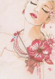 Deep in Thought, cross stitch kit by Vervaco