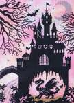 Enchanted Dragon Castle, cross-stitch kit by Bothy Threads