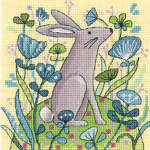 Hare - cross stitch kit by Karen Carter