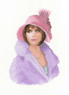 Harriet, cross stitch kit by John Clayton