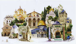 Jerusalem, cross stitch kit by Thea Gouverneur