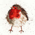 Jolly Robin, cross stitch kit by Bothy Threads