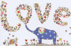 LovElly, Cross Stitch Kit from Bothy Threads