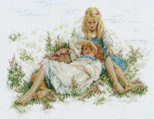 Summertime, Cross Stitch Kit by Willem Haenraets/Lanarte