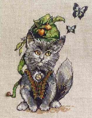 The Little Scot, cross stitch pattern or kit by Nimue Fee Main