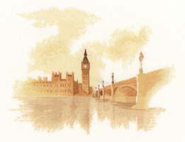Westminster, cross stitch kit by John Clayton